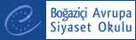 Boğaziçi European School of Politics Logo